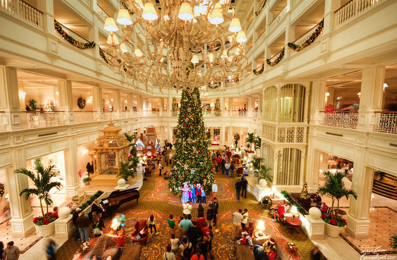 Grand Floridian Hotel Lobby 3 9pm Mlj Music Piano And More